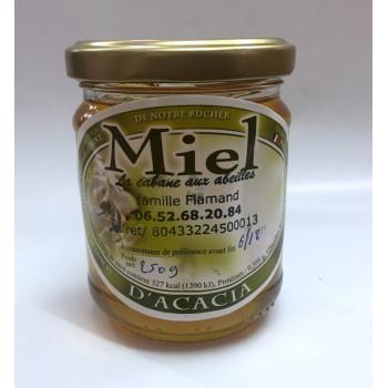 Miel d'Acacia - 100% Naturel - Apiculteur en Essonne - 250gr