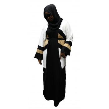 Robe Kimono 3 Couleurs - Noir, Beige Clair et Beige Foncé - Taille : de 1,60m à 1,70m - n°4386