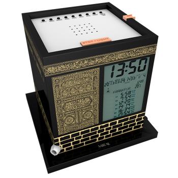 Kaaba - Horloge avec Azan et Horaires Prière + Récitation du Coran - 2000 Villes et 12 Adhân Différents