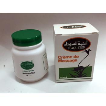 Crème de Massage Rub - Black Seed - Graine de Nigelle - 100 ml