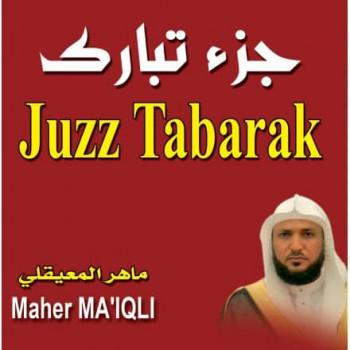 CD - Juzz Tabarak - Maher Ma'iqli - CD 213