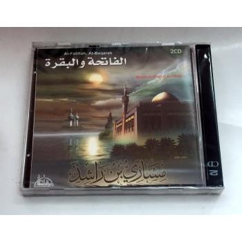 En 2 CD - Al Fatiha et Al Baqarah - Cheik Meshary Rashid Al Afasy - CD 4628