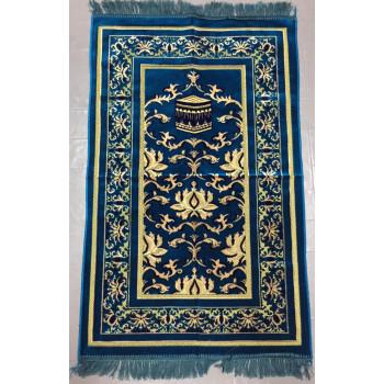 Tapis de Prière Bleu Turquoise - 4691