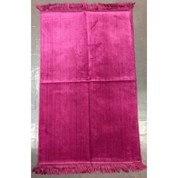 Tapis de Prière de Couleur Unis - Rose - 4697
