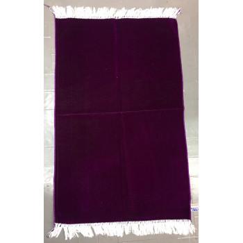 Tapis de Prière de Couleur Unis - Prune Claire - 4698