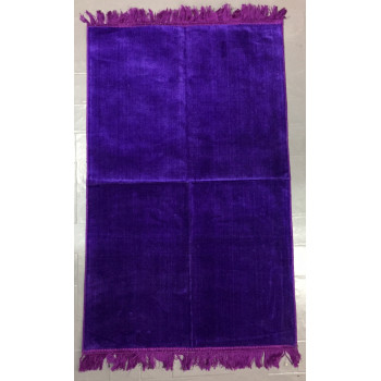 Tapis de Prière de Couleur Unis - Violet - 4699