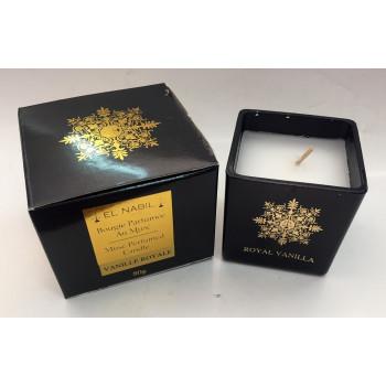 Bougie Parfumée au Musc - Vanille Royale - Parfum d'Interieur - El Nabil - 80 gr