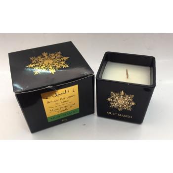 Bougie Parfumée au Musc - Musc Mango - Parfum d'Interieur - El Nabil - 80 gr