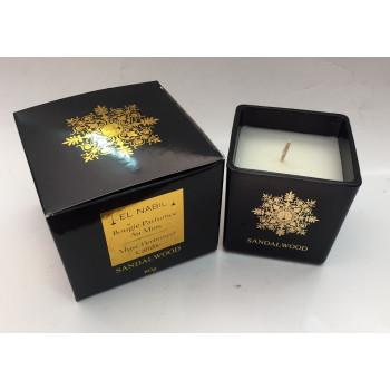 Bougie Parfumée au Musc - Sandalwood - Parfum d'Interieur - El Nabil - 80 gr