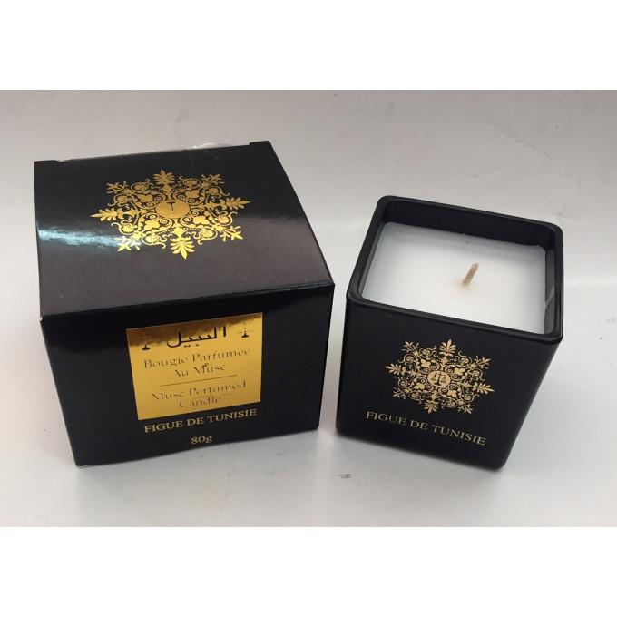 Bougie Parfumée au Musc - Figue de Tunisie - Parfum d'Interieur - El Nabil - 80 gr
