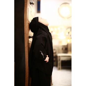 Jilbab Enfant - Couleur Noir - 2 à 4 ans - 6 à 8 ans - 10 à 12 ans - Na3im - 4734