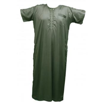 Qamis Al Carpal - Vert Sauge - Manche Courte