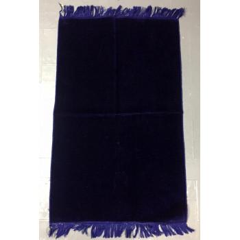 Tapis de Prière de Couleur Unis - Bleu Nuit - 4848