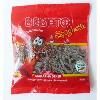 Bonbons Spaghetti au Cola - Bebeto - Halal - Sachet 80gr