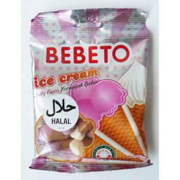 Bonbons Ice Cream - Bebeto - Halal - Sachet 80gr