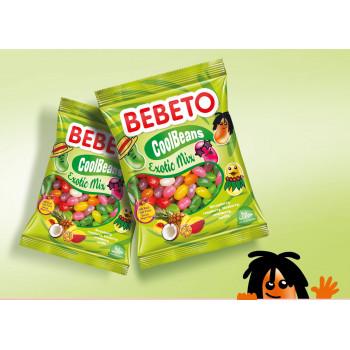 Bonbons Cool Beans - Tropical Mix - Bebeto - Halal - Sachet 60gr