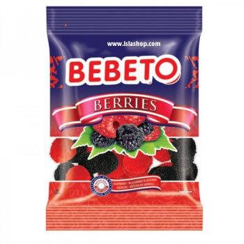 Bonbons Berries - Baies Framboise et Mûre - Bebeto - Halal - Sachet 80gr