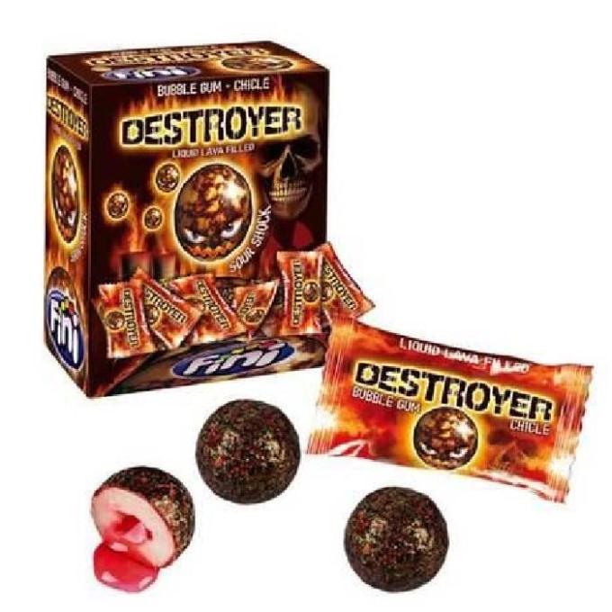 Bonbons - Destroyer - Bubble Gum - Fini - Halal