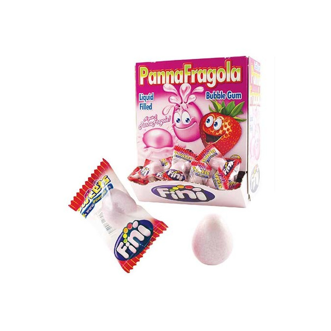 Bonbons - Panna Fragola - Bubble Gum - Fini - Halal
