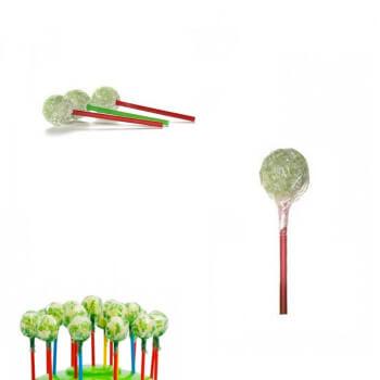 Bonbons - Sucette RAMZY - POMME VERTE - Chewing Gum - Halal - 4922