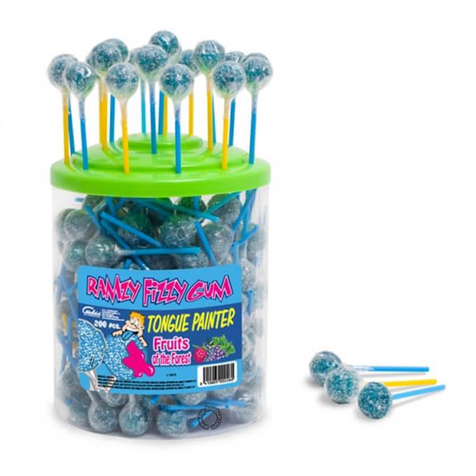 Bonbons - Sucette RAMZY - FRUITS DES BOIS - Chewing Gum - Halal