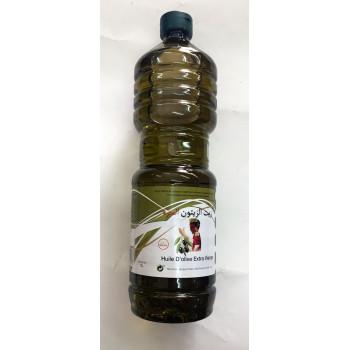 Huile d'Olive Extra Vierge - 100% Naturel - Maroc - 1 litre