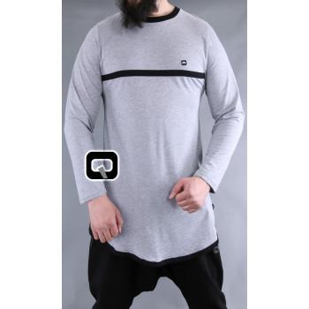 T-Shirt Bicolore - Manches Longues - Qaba'il - 04