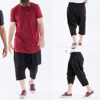 Jeans Court - Black - Dianoux Collection - Sarouel DC Jeans - 5076