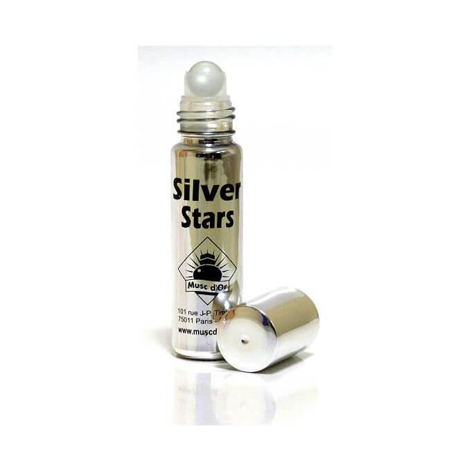 Musc Silver Star - Edition de Luxe Paris - 8 ml - Musc d'Or - Sans Alcool - M116
