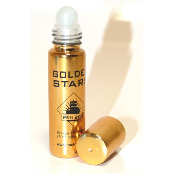 Musc Golden Star - Edition de Luxe Paris - 8 ml - Musc d'Or - Sans Alcool - M133