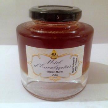 Miel d'Eucalyptus du Maroc - Wadi Shibam - 250 gr - 5196