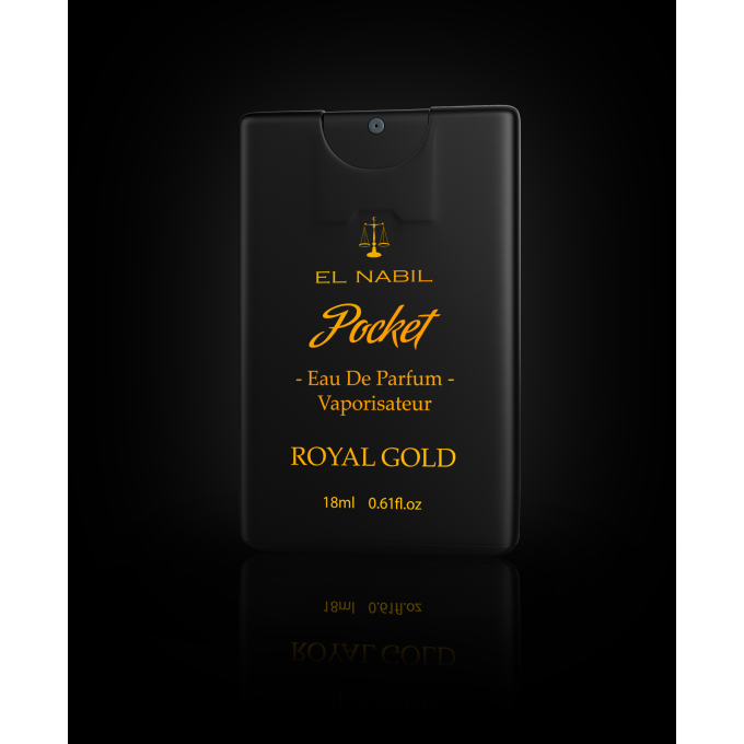 Royal Gold - Pocket - Parfums Spray - El Nabil - 20ml