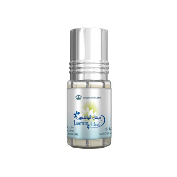Jasmin Musk - Musc Sans Alcool - Concentré de Parfums Bille 3ml - Al Rehab