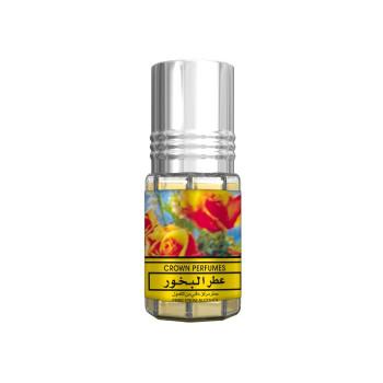 Bakhour Crown Perfumes - Musc Sans Alcool - Concentré de Parfums Bille 3ml - Al Rehab
