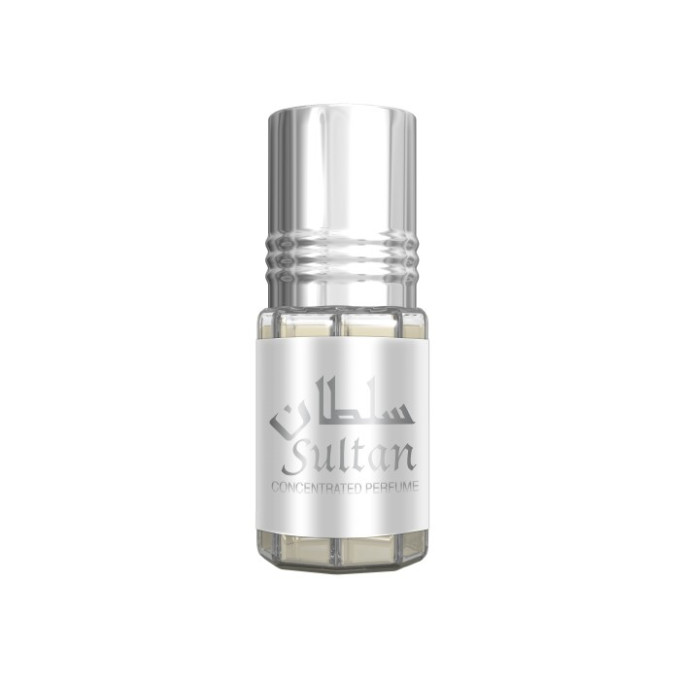 Sultan - Musc Sans Alcool - Concentré de Parfums Bille 3ml - Al Rehab