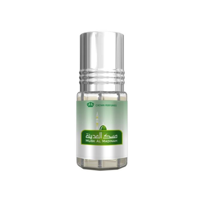 Musk Al Madinah - Musc Sans Alcool - Concentré de Parfums Bille 3ml - Al Rehab