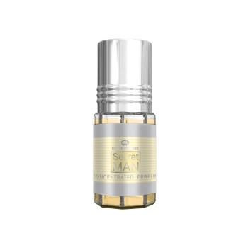 Secret Man - Musc Sans Alcool - Concentré de Parfums Bille 3ml - Al Rehab