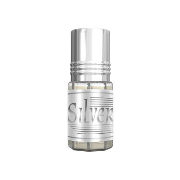 Silver - Musc Sans Alcool - Concentré de Parfums Bille 3ml - Al Rehab