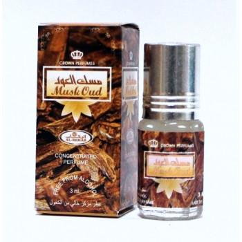 Musc Oud - Musc Sans Alcool - Concentré de Parfums Bille 3ml - Al Rehab