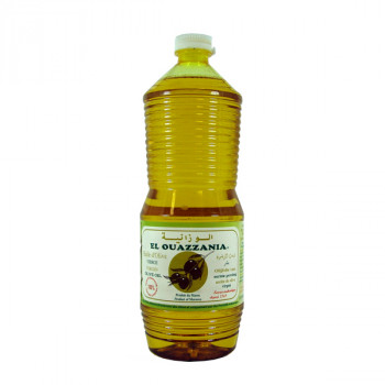 Huile d'Olive Extra Vierge - El Ouazzania - Maroc - 100% Naturel - 1 litre