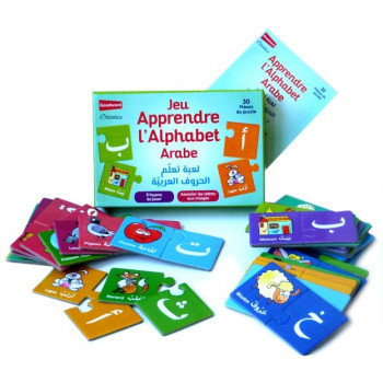 Jeu Apprendre l'Alphabet Arabe - 5 Façons de Jouer - Associer Lettres Arabes Aux Images - GoodWord - A partir de 3 ans
