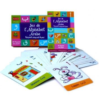 Jeu Apprendre l'Alphabet Arabe - 10 Façons de Jouer - GoodWord - A partir de 3 ans