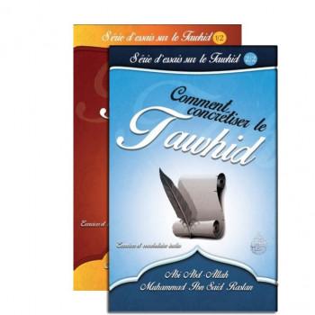Les Vertus du Tawhid ½ + Comment Concrétiser le Tawhid 2/2- Pack de 2 Volume - Sheikh Raslan - Edition Al Furqan