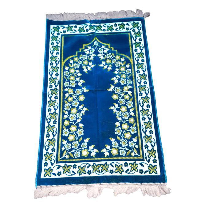 Tapis de Prière Bleu Turquoise - 5436