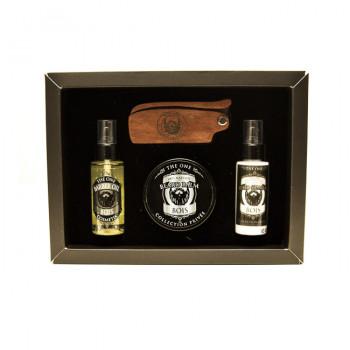 The Barber Kit Bois - BOIS - Huiles 100% Naturelles  - The One Cosmetix - 5618