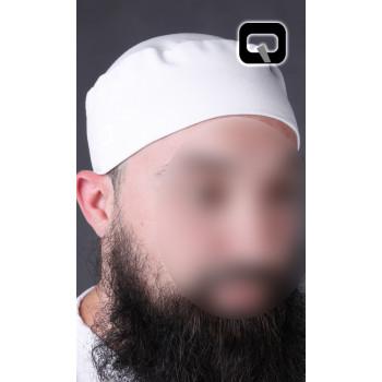 Taguia - Bonnet - Blanc - Qabail