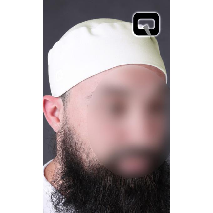 Taguia - Bonnet - Blanc Cassé - Qabail