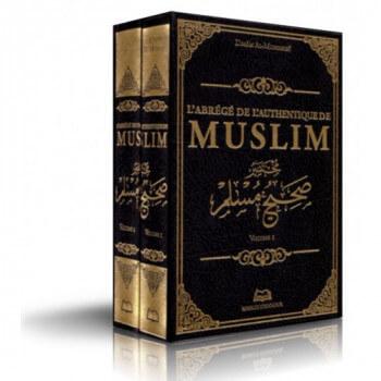 L'Abrégé de L'Authentique de Muslim - Arabe-Français - 2 Vol - l'Imâm Al Lundhiri - Edition Ennour - 5748