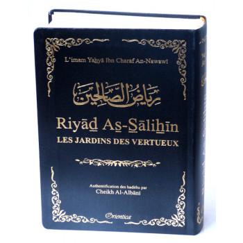 Riyâd As-Salihine de l'Imam Al Nawawi - Noir - De Poche - Les Jardins des Vertus - Edition Orientica