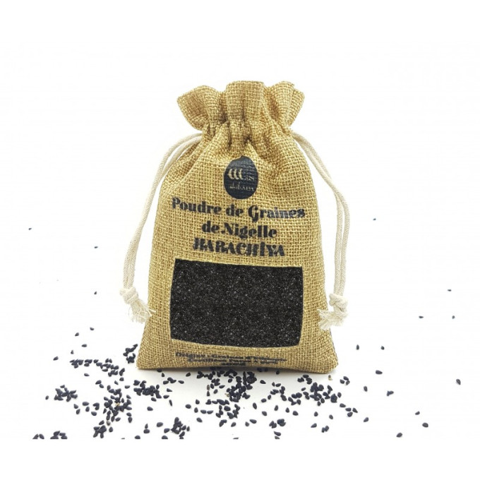 Poudre de Nigelle Habachia - Ethiopie - Grade A pureté 99% certifiée -  Moulu à Partir de la Graine- 100 gr - Wadi Shibam - 4671